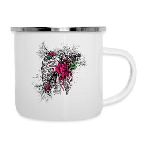 Skeleton Rose - Camper Mug