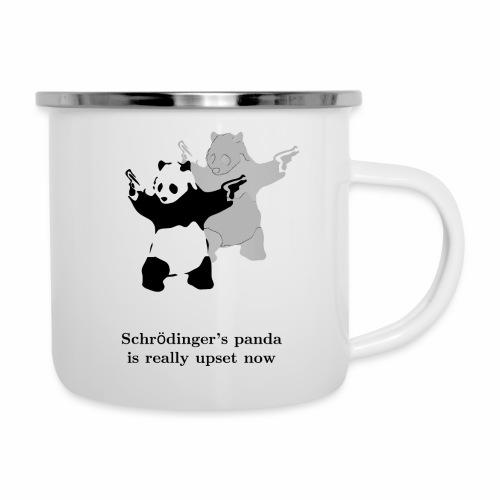 Schrödinger's panda is really upset now - Camper Mug