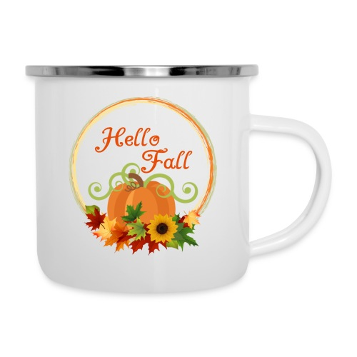 hello fall - Camper Mug