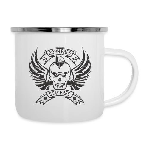Born Free Stay Free - Camper Mug