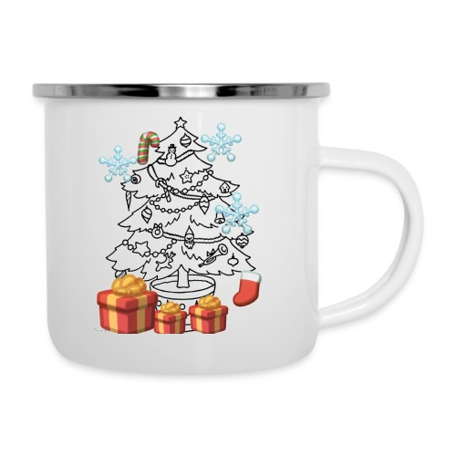 Christmas is here!! - Camper Mug