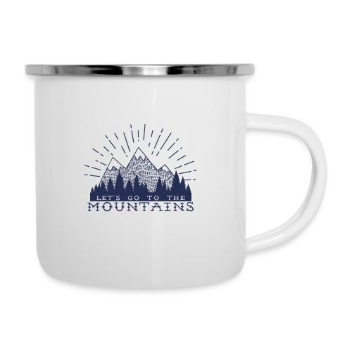 Adventure Mountains T-shirts and Products - Camper Mug