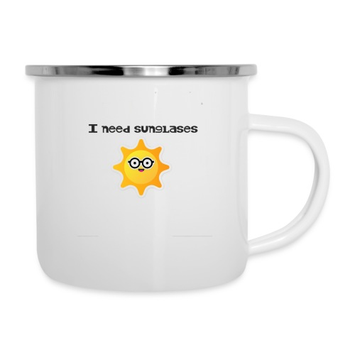 sunglases funny - Camper Mug