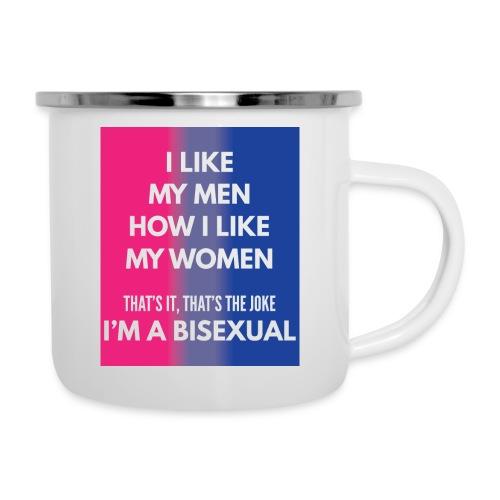Bisexual - Bi - LGBT - Gay Pride - Gift - Camper Mug