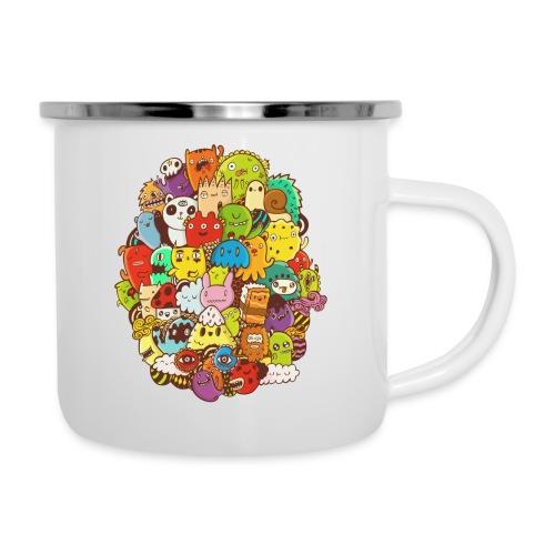 Doodle for a poodle - Camper Mug