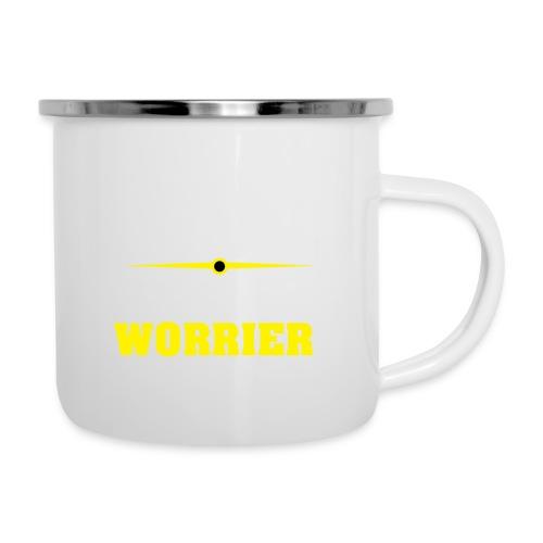 Be a warrior not a worrier - Camper Mug