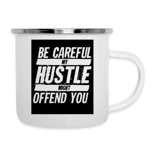 My Hustle Might Offend You - Camper Mug