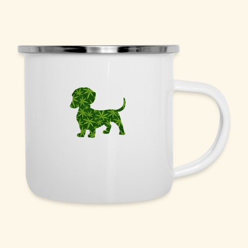 PUFFY DOG - PRESENT FOR SMOKING DOGLOVER - Camper Mug