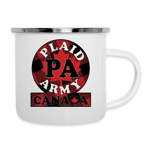 Plaid Army Canada - Camper Mug