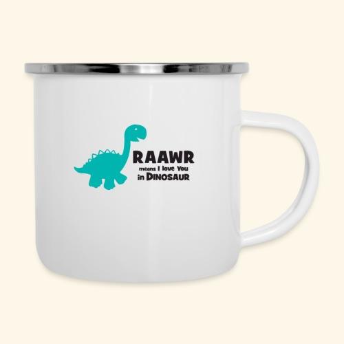 Dino RAAWR Means I Love You Tee - Camper Mug