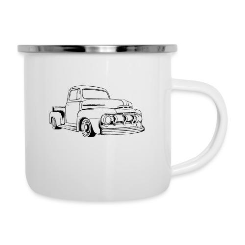 1951 F100 Classic Pickup Truck Men's T-Shirt - Camper Mug