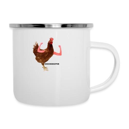 ChickenLover Box Logo T-shirt - Camper Mug