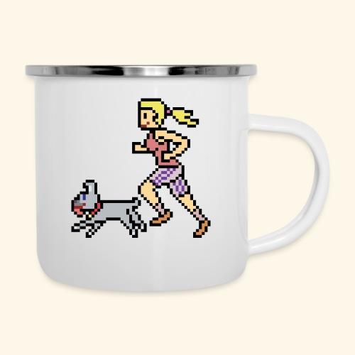 RunWithPixel - Camper Mug