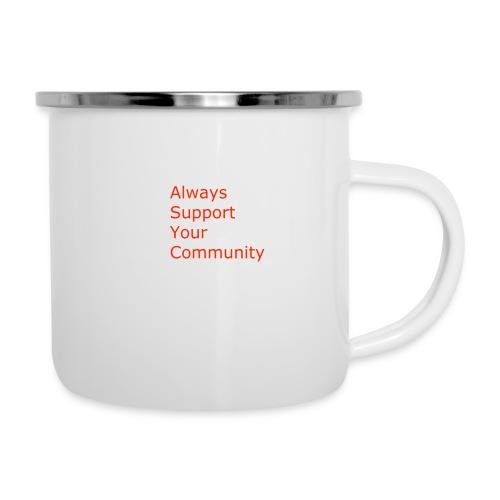 Always Support Your Community - Camper Mug