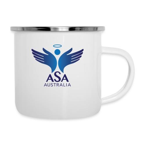 3459 Angelman Logo AUSTRALIA FA CMYK - Camper Mug