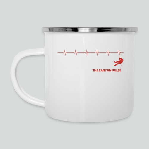 THE CANYON PULSE- on light front-2 sided - Camper Mug