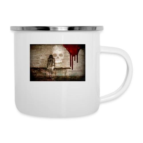 sad girl - Camper Mug