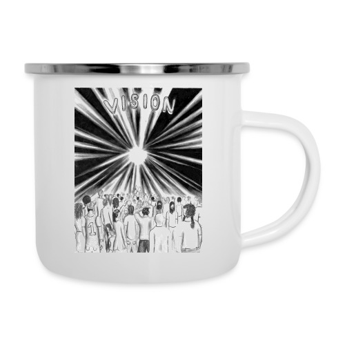 Black_and_White_Vision - Camper Mug
