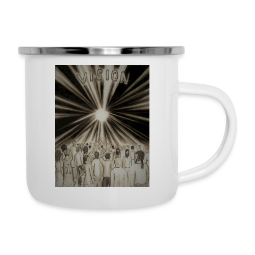 Black_and_White_Vision2 - Camper Mug