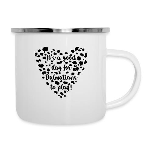 Dalmatians Play - Camper Mug