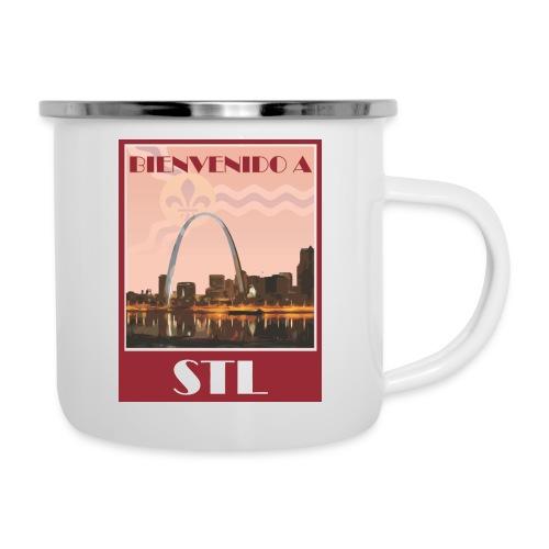 Bienvenido STL Skyline - Camper Mug