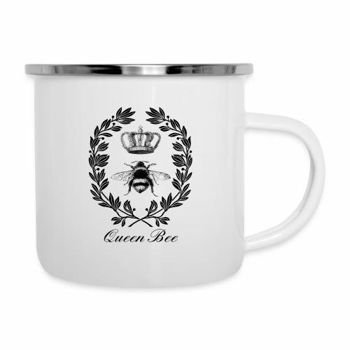 Vintage Queen Bee - Camper Mug