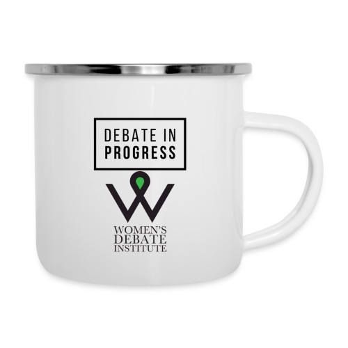 Debate in Progress - Camper Mug