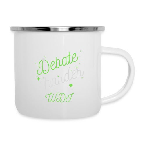 Debate Harder! - Camper Mug
