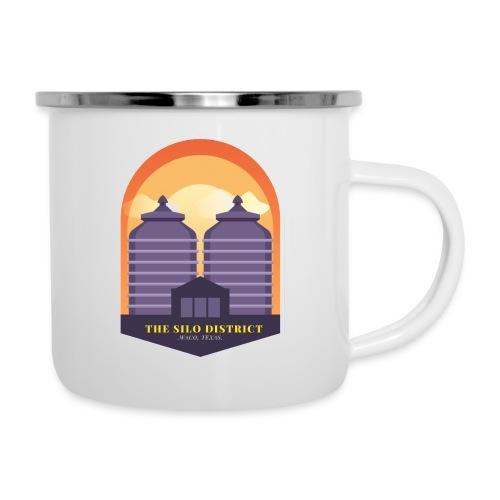 The Silos in Waco - Camper Mug