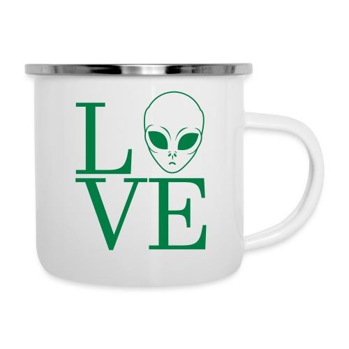 LOVE ALIEN - Camper Mug