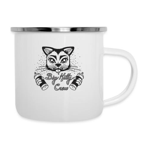 Big Kitty Spray Paint - Camper Mug