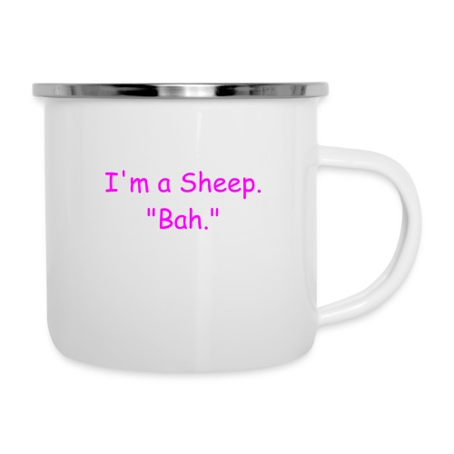 I'm a Sheep. Bah. - Camper Mug