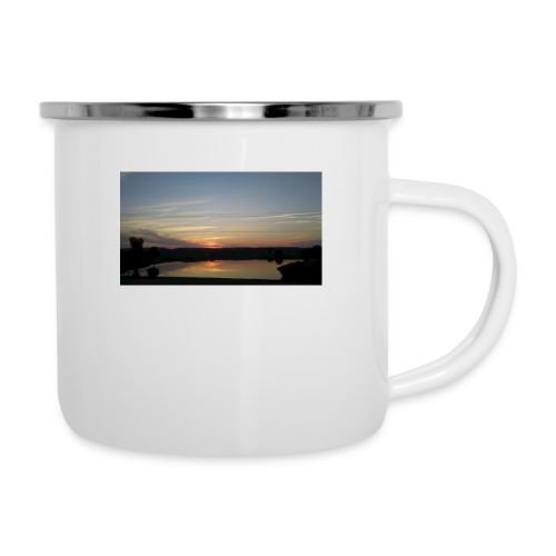 Sunset on the Water - Camper Mug