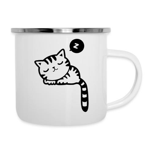 Sleeping Kitty - Camper Mug