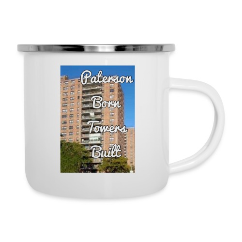 Paterson Born Towers Built - Camper Mug