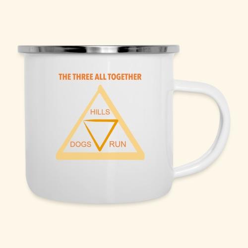 Run4Dogs Triangle - Camper Mug