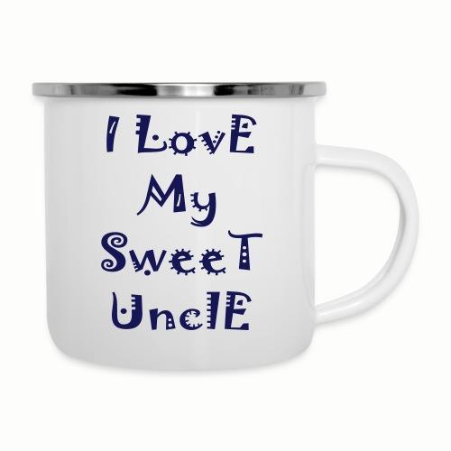 I love my sweet uncle - Camper Mug