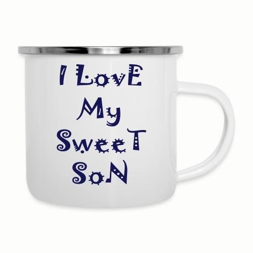 I love my sweet son - Camper Mug