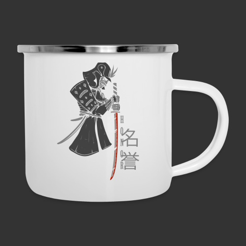 Samurai (Digital Print) - Camper Mug