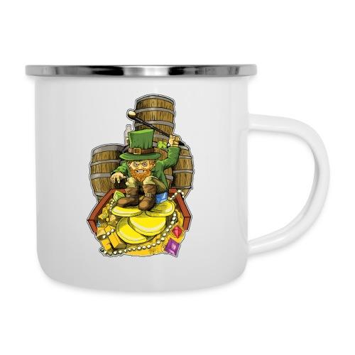 Angry Irish Leprechaun - Camper Mug