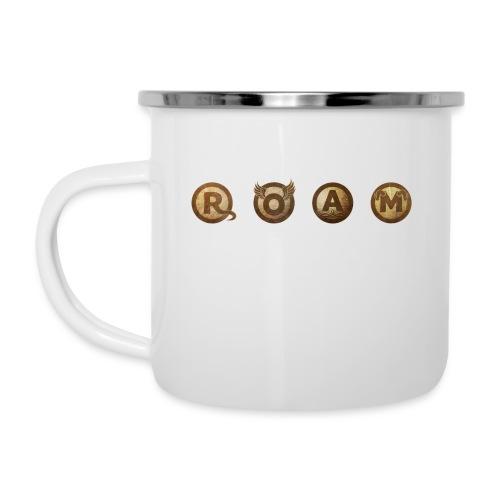 ROAM letters sepia - Camper Mug