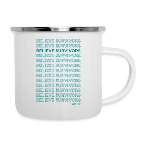 Believe Survivors - Camper Mug