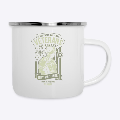 US Army Veterans - Camper Mug
