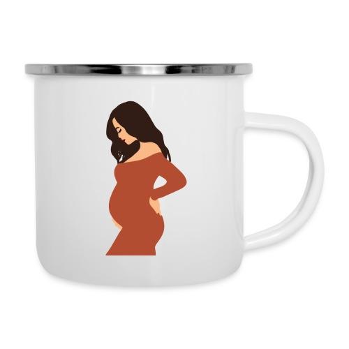 Pregnancy Print / Motherhood/baby shower gifts - Camper Mug