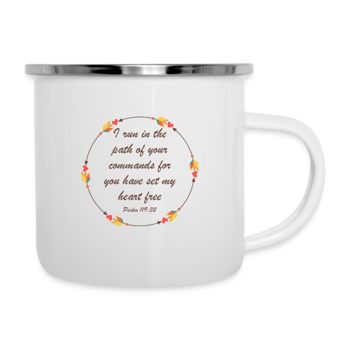 Psalm 119 32 - Camper Mug