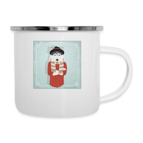 Hispter Dog - Camper Mug