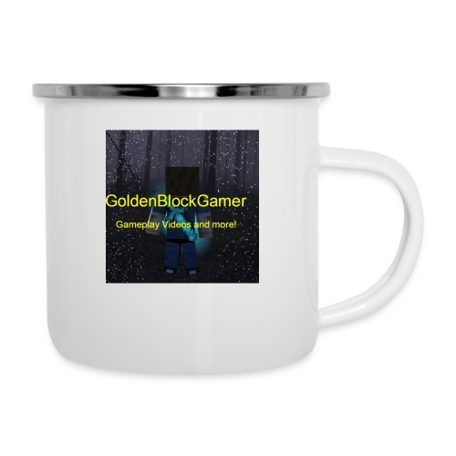 GoldenBlockGamer Tshirt - Camper Mug