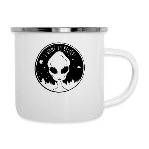 I Want To Believe - Camper Mug
