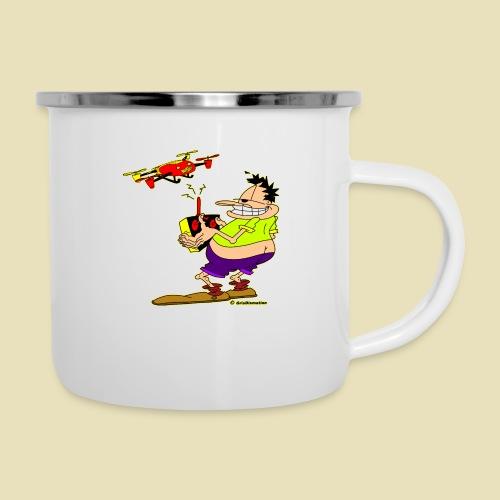 GrisDismation Ongher Droning Out Tshirt - Camper Mug