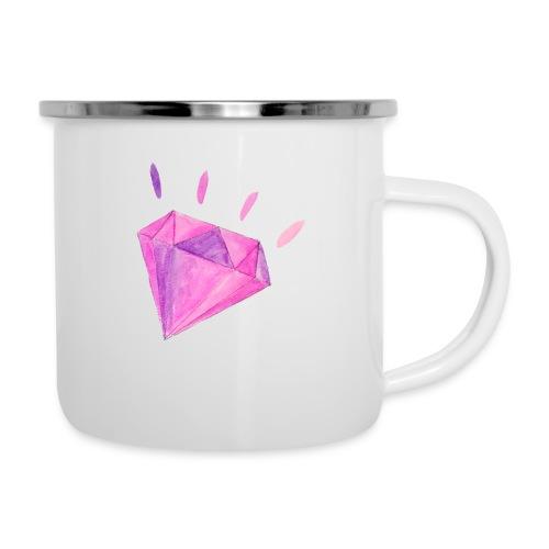 Watercolor Diamond - Camper Mug